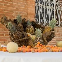 idee-buffet-fruits-ananas-chateau-lavalade-tarn-et-garonne