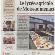 La-depeche-lycee-agricole-Moissac-chateau-lavalade-tarn-et-garonne